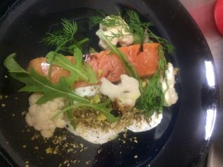 House smoked salmon